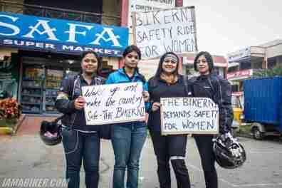 Bikerni Safety for Women ride - Bangalore - 17