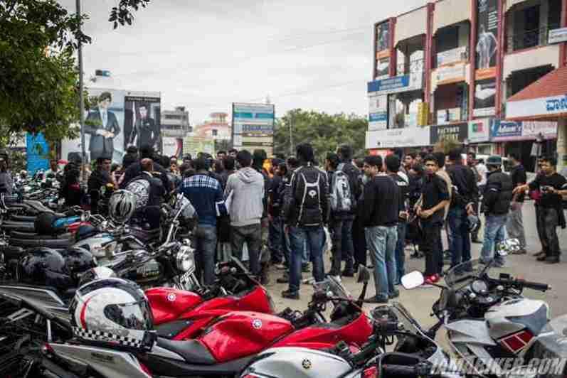 Bikerni Safety for Women ride - Bangalore - 24