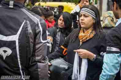 Bikerni Safety for Women ride - Bangalore - 26