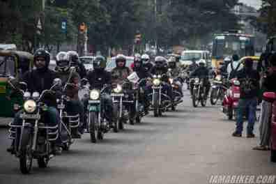 Bikerni Safety for Women ride - Bangalore - 43