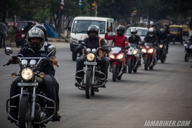 Bikerni Safety for Women ride - Bangalore - 45