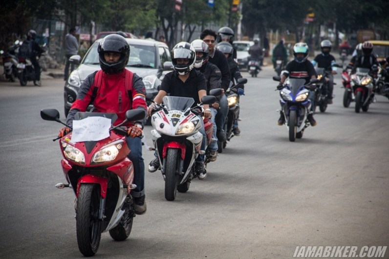 Bikerni Safety for Women ride - Bangalore - 46
