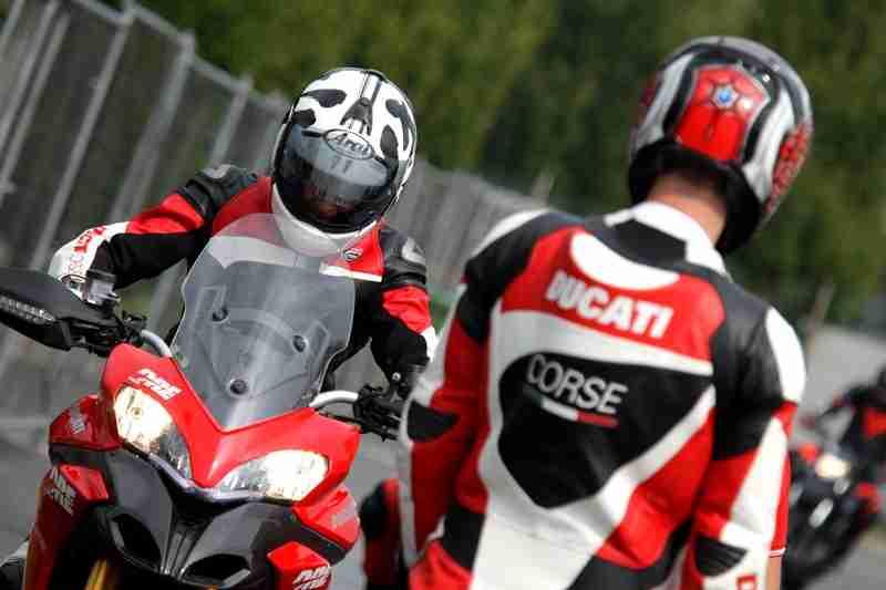 Ducati Riding Experience 2013 - 01