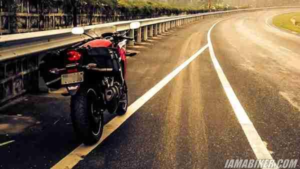 Honda CBR250R touring
