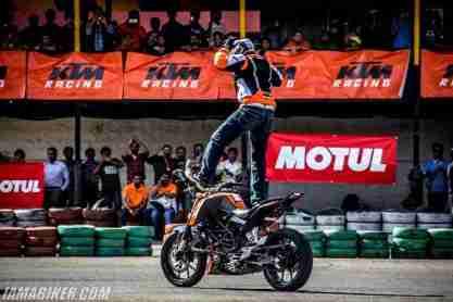 KTM Orange Day bangalore photographs - 27