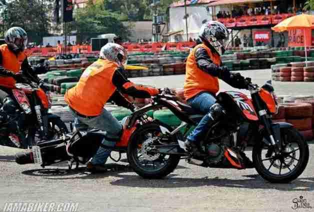 KTM Orange Day bangalore photographs - 33