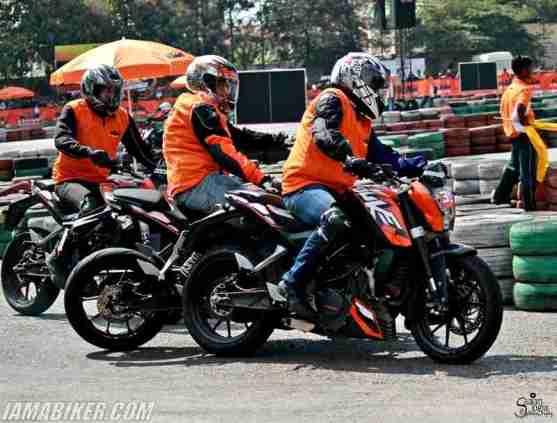KTM Orange Day bangalore photographs - 34