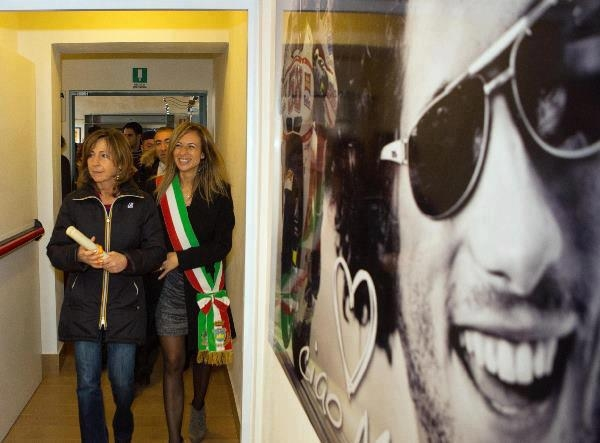 Marco Simoncelli memorial and exhibition - 01