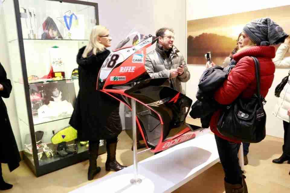 Marco Simoncelli memorial and exhibition - 03