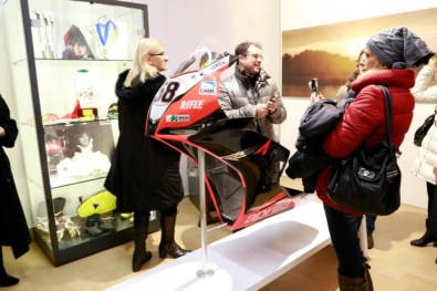 Marco Simoncelli memorial and exhibition - 03