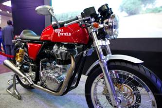 Royal Enfield Cafe Racer production version