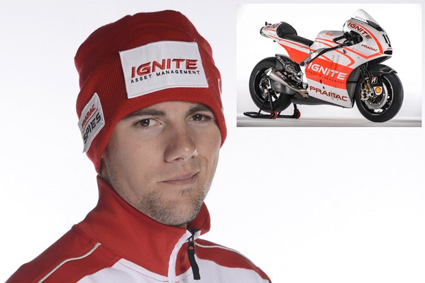 Ben Spies and the Pramac Racing Team
