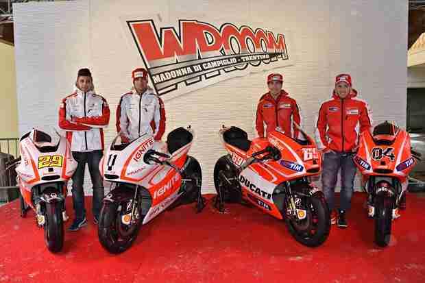 Ducati Desmosedici GP13 unveiled