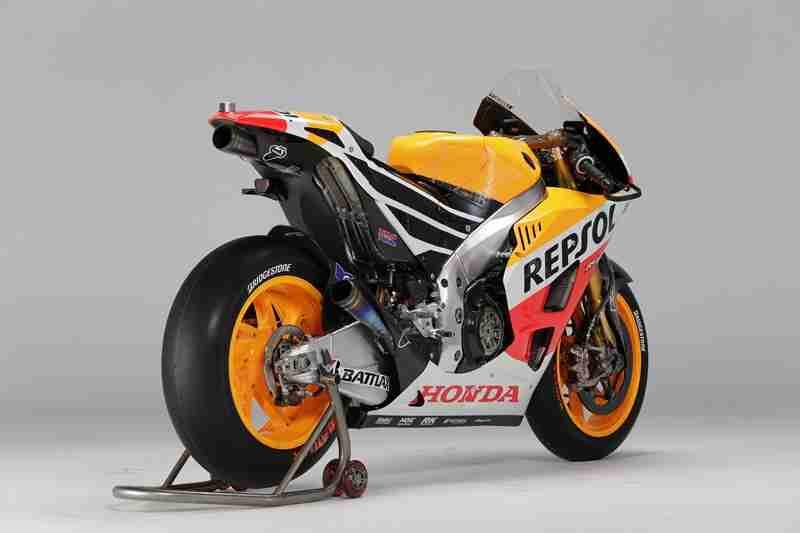 Honda RC213V specifications - 15