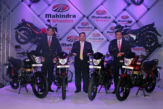 New Mahindra motorcycles Pantero and Centuro unveiled
