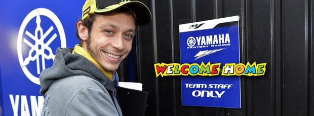Yamaha welcomes back Rossi with a video
