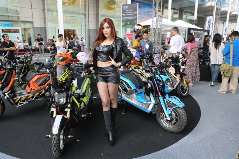 2013 Bangkok Motorbike Festival photographs - 16