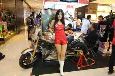 2013 Bangkok Motorbike Festival photographs - 25