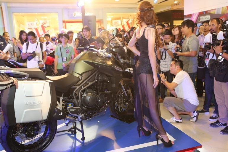 2013 Bangkok Motorbike Festival photographs - 37