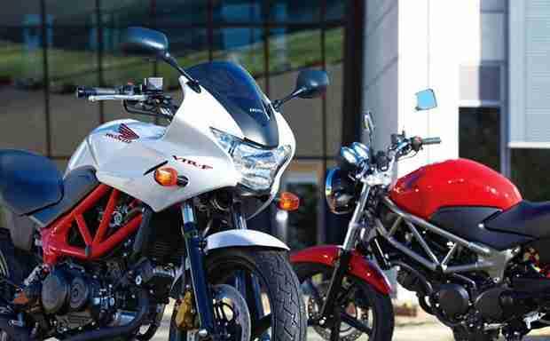 2013 Honda VTR 250 and VTR 250F