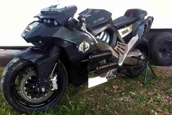 GI Joe motorcycle Ducati Monster - 02