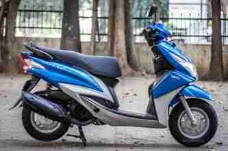 Yamaha Ray scooter India - 29
