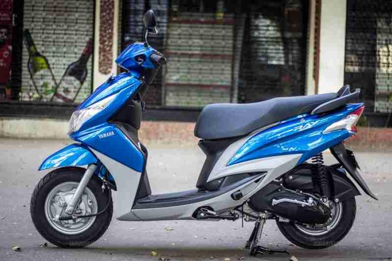 Yamaha Ray scooter India - 30