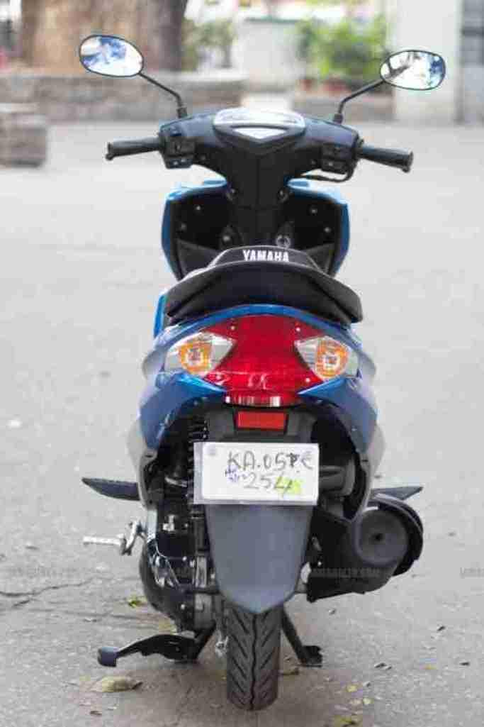 Yamaha Ray scooter India - 31