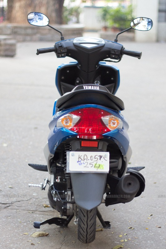 Yamaha Ray scooter India - 31