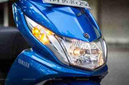 Yamaha Ray scooter India - 41