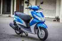 Yamaha Ray scooter India - 45