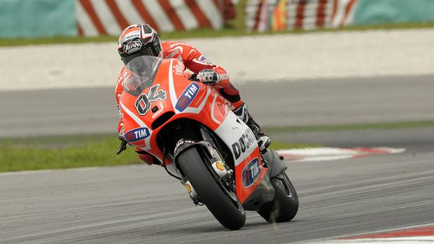 andrea dovizioso Ducati Sepang testing day 2 report