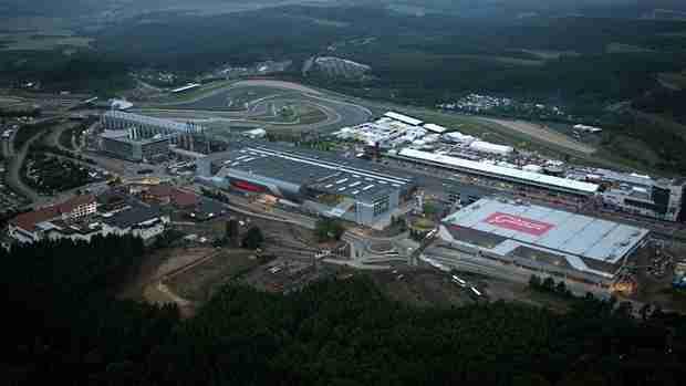 Nurburgring up for sale