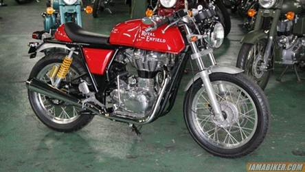royal enfield cafe racer continental gt launch india