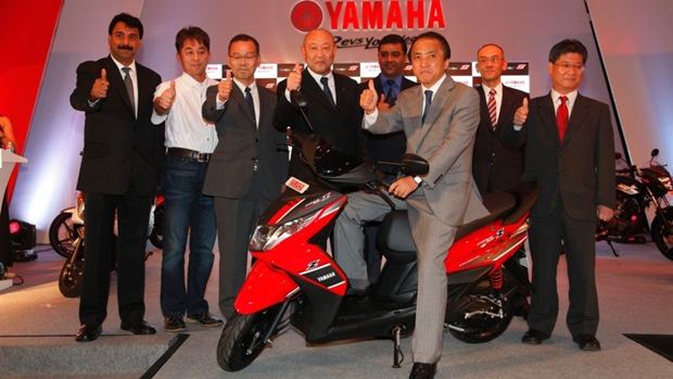 yamaha ray z launch india