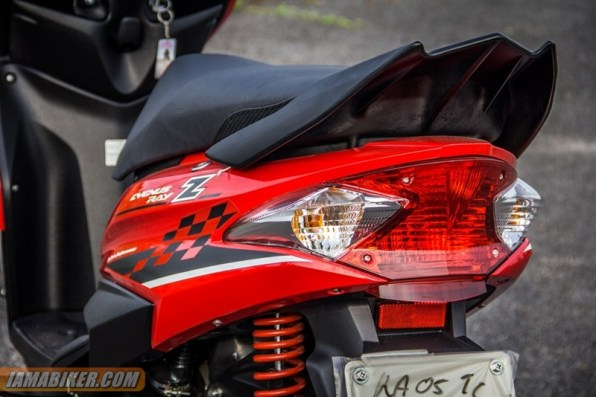 yamaha ray z tail