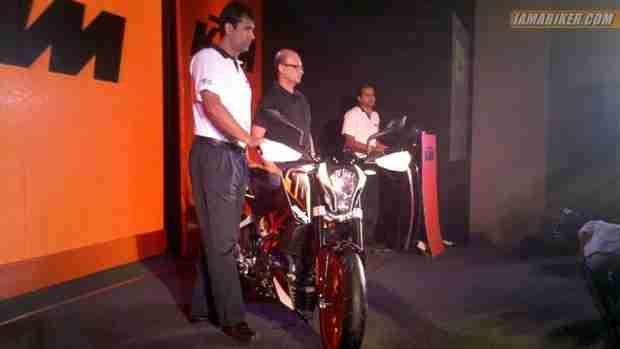 KTM Duke 390 India launch