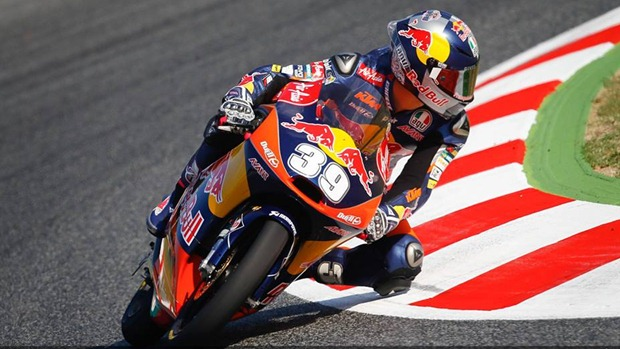Luis Salom moto3 catalunya