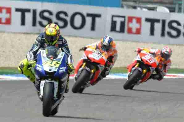 Valentino Rossi and Honda duo