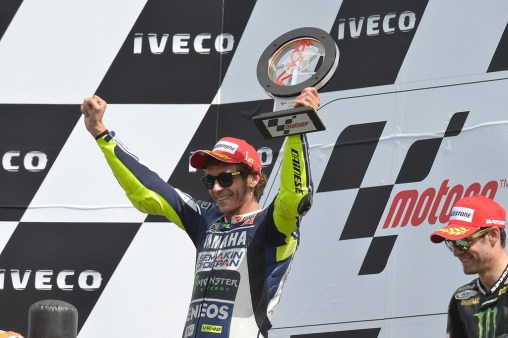 Valentino Rossi MotoGP Assen winner