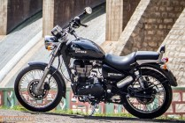 Royal Enfield Thunderbird 500 side view left