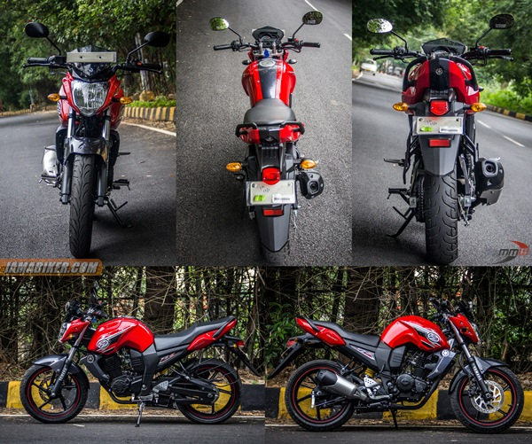 yamaha fz s review build quality, looks and feel