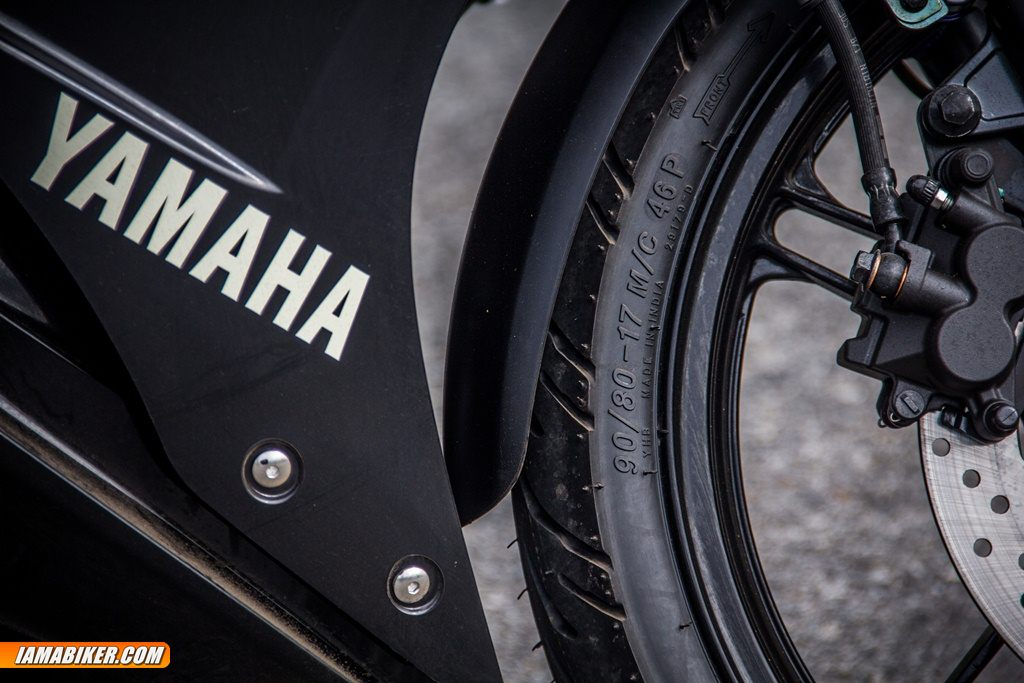 yamaha r15 v2 front tryre profile