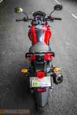 2013 Yamaha FZ-S rear top view
