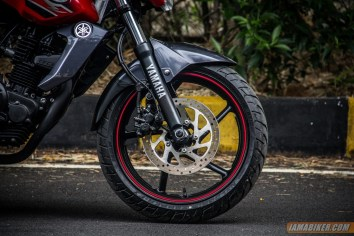 2013 Yamaha FZ-S front tyre and disc