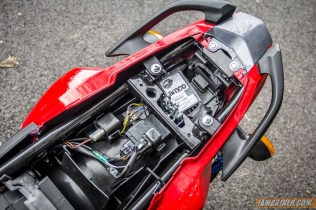 2013 Yamaha FZ-S underseat