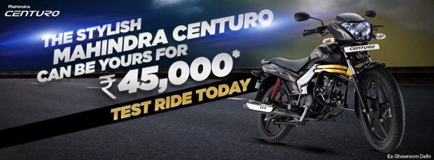 mahindra centuro booking