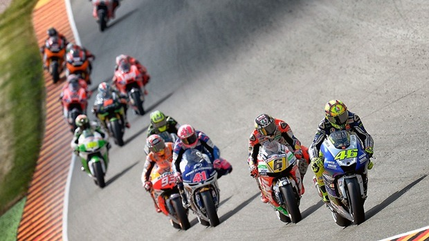 motogp 2013 sachsenring start