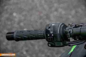 2013 Kawasaki Ninja 300 left switch gear