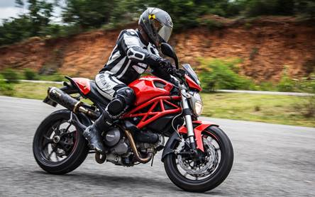 Ducati Monster 796 first ride review india